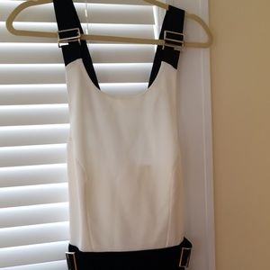 Ted Baker  black and white jumpsuit